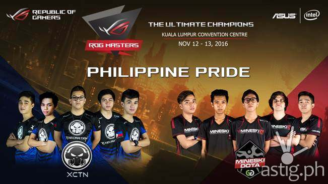 Execration and Mineski reps PH in DOTA2 world championship