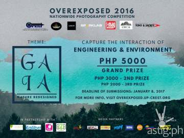 Overexposed 2016 GAIA Poster