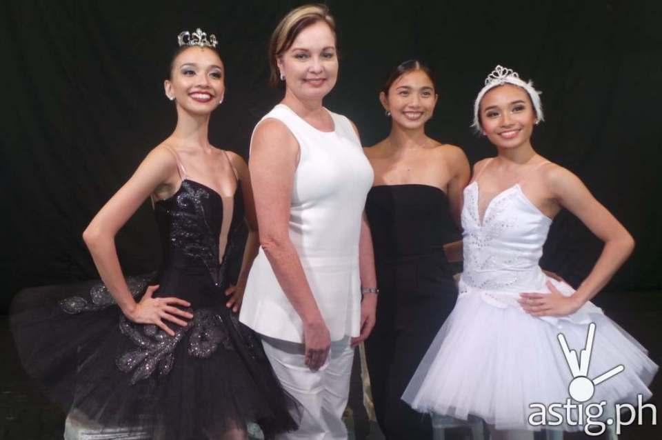 Denise Parungao, Margie Moran, Candice Adea and Jemima Reyes