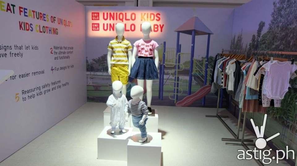 Uniqlo Baby and Kids