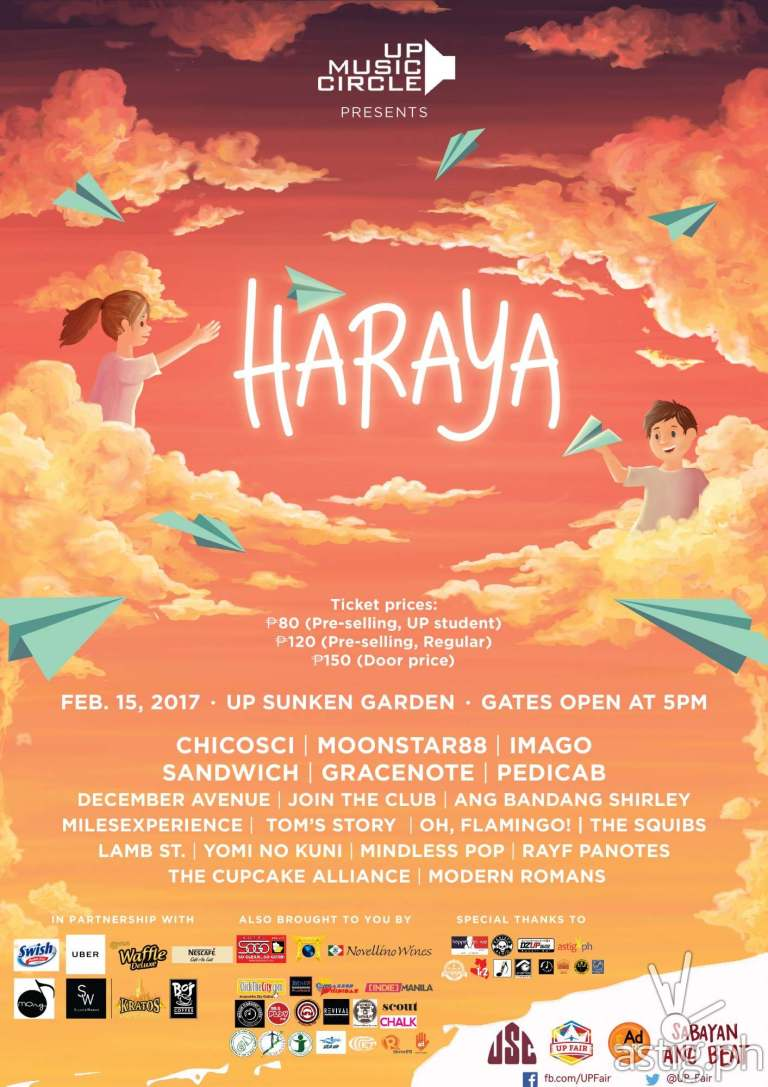 HARAYA UP Fair 2017 poster