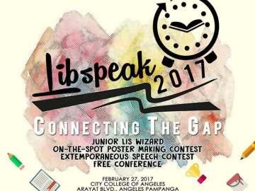 LibSpeak 2017 Official Poster