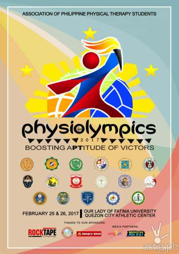 PhysiOlympics 2017 poster