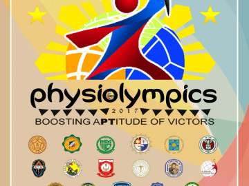 PhysiOlympics 2017 poster