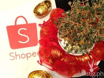 Shopee Philippines Chinese New Year celebration at Lugang Cafe, Glorietta Makati