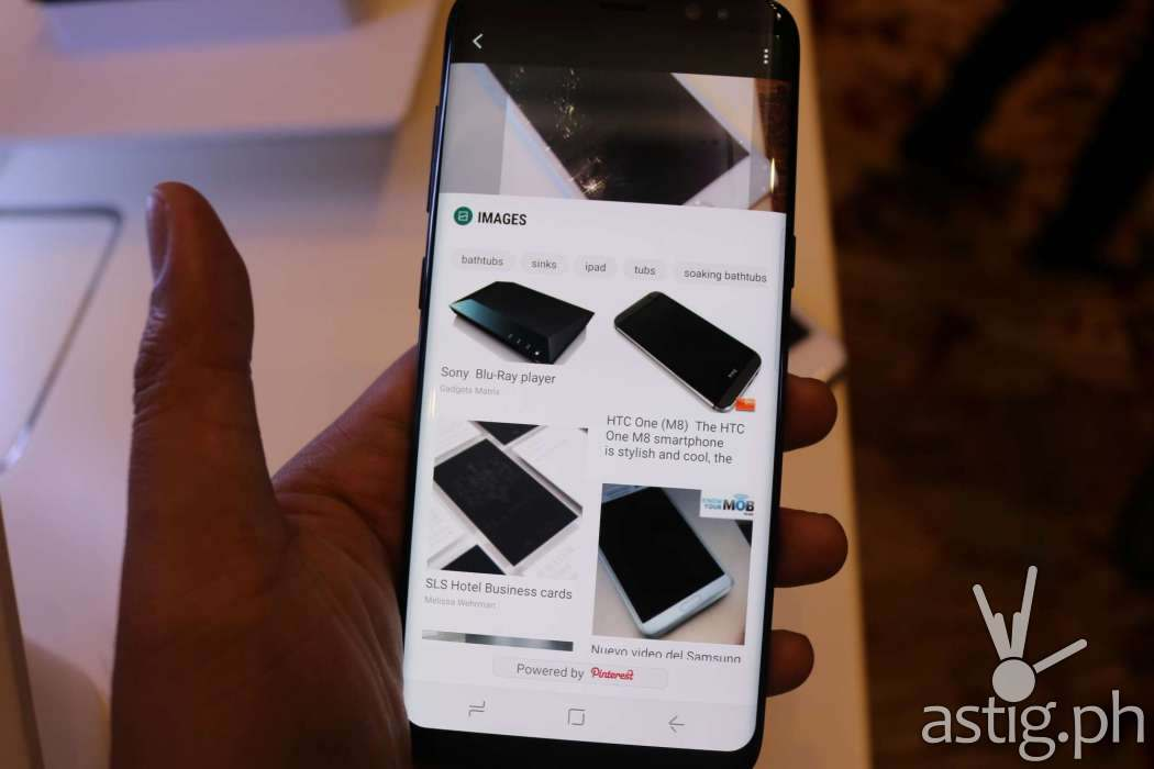 Samsung Galaxy S8 - Bixby assistant AI