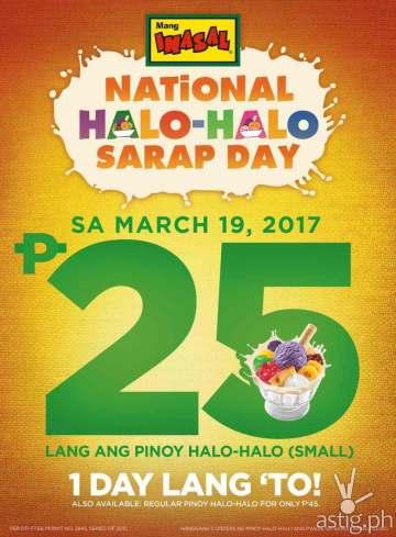 Mang Inasal National Halo-Halo Day 2
