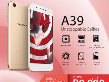 Oppo A39 price drop