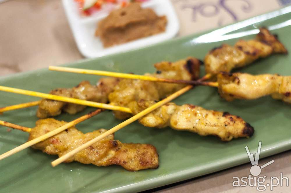 Soi Thai Chicken Satay