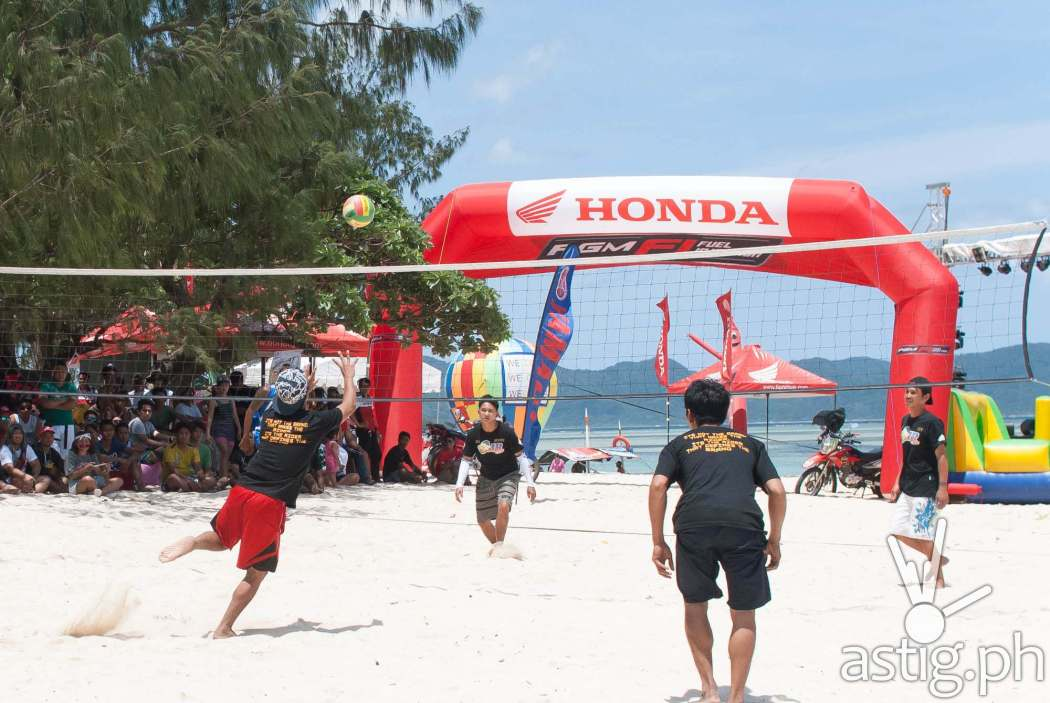 Beach volleyball at Partakan Festival 2017