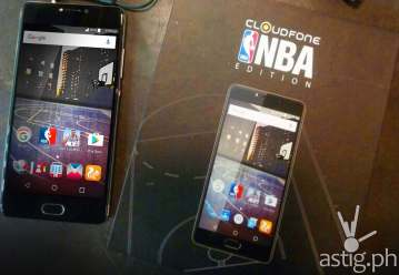 Cloudfone NBA phone