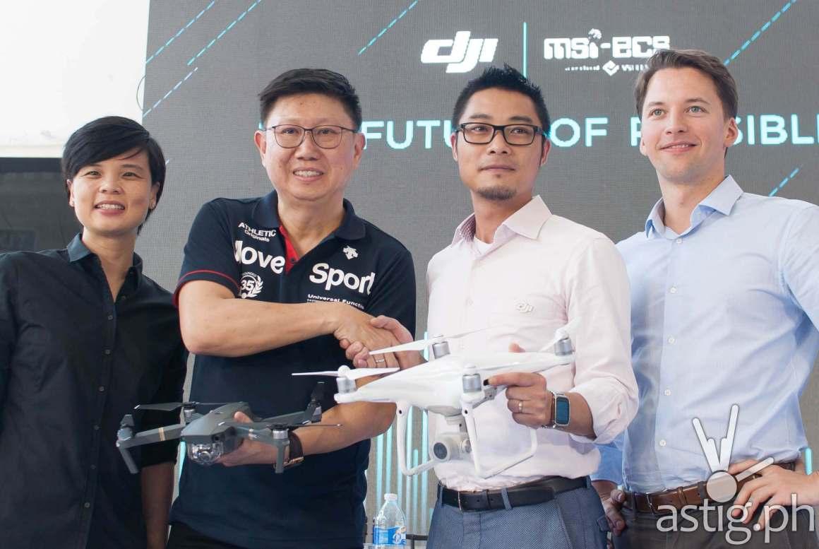 DJI chooses MSI-ECS as Philippine distributor