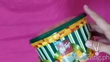 How to open Chef Tony's popcorn bucket