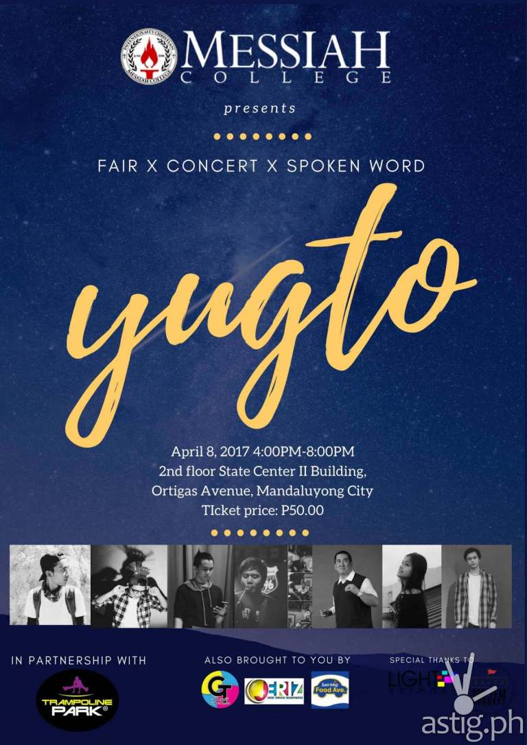 Yugto event poster