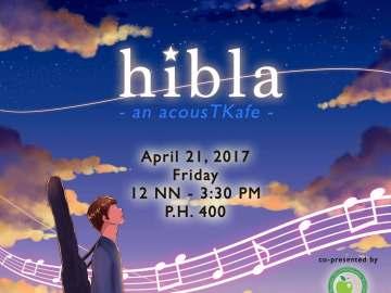 hibla event by UP Tomo-Kai poster
