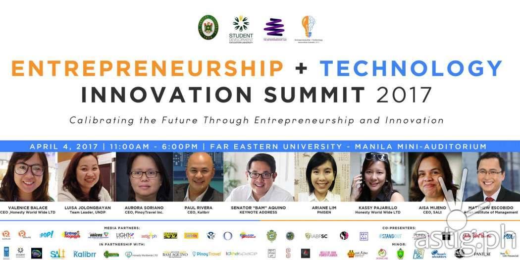 ENTECH Summit 2017 poster