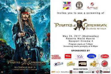 Pirates of the Carribean Salazar's Revenge