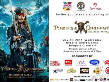 Pirates of the Carribean Salazar's Revenge