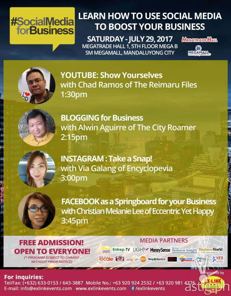 Social Media Seminar PBEX 2017