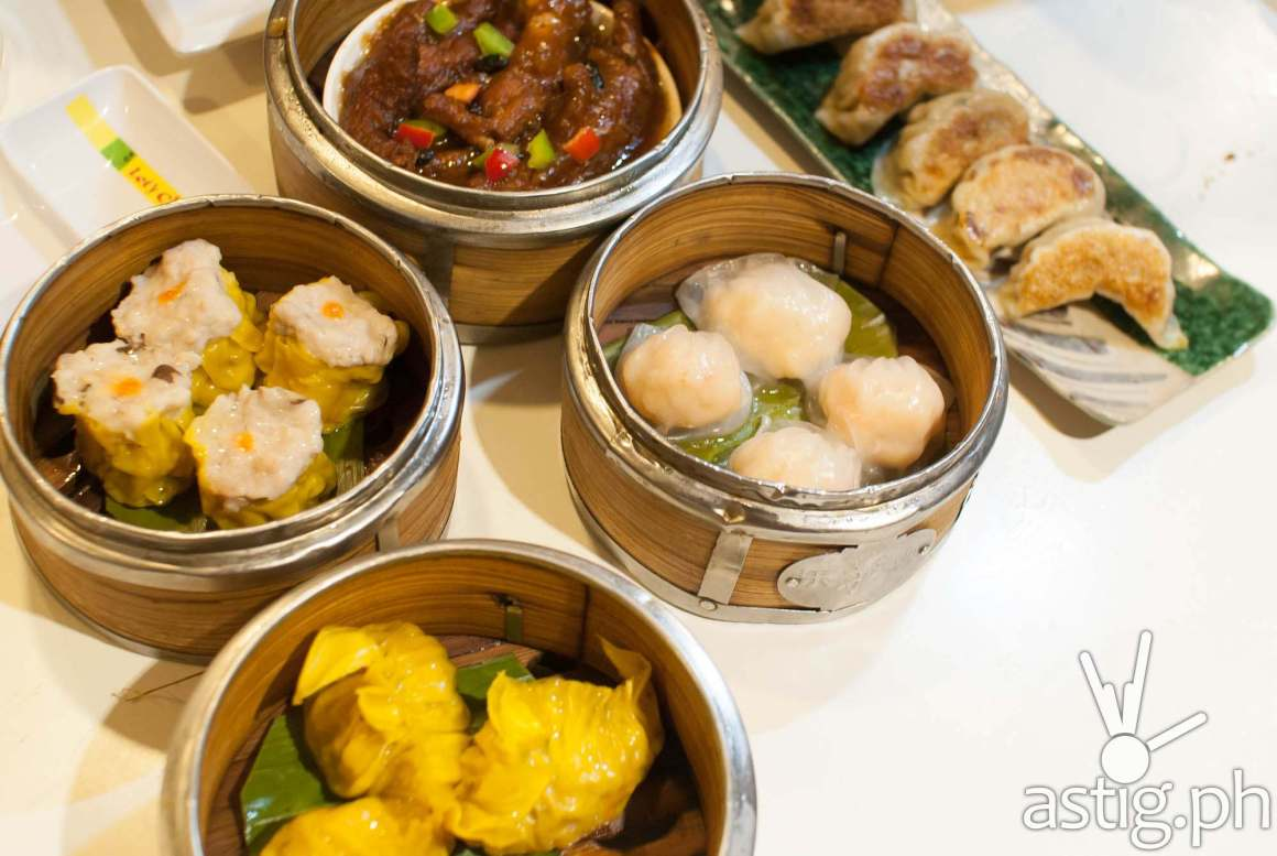Chinese dim sum and Japanese dumplings - Let's Chow Rice and Noodle
