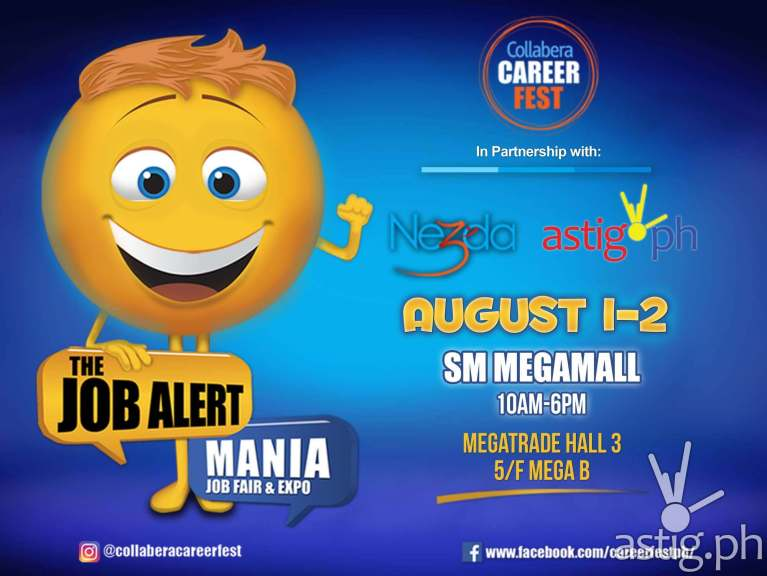 Collabera Career Fest event poster