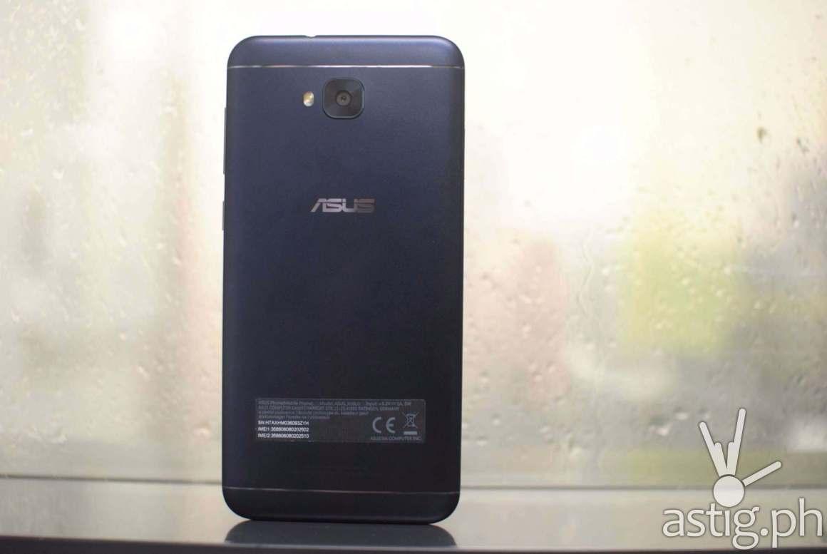 ASUS Zenfone 4 selfie back