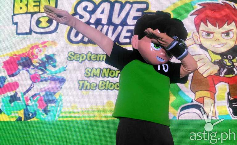 Ben 10 toys mall launch Philippines
