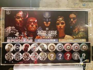 7-Eleven Justice League Fidget Spinners