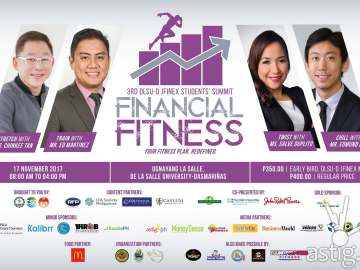 Financial Fitness poster