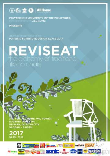 revi-seat event poster