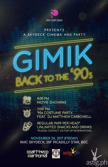 Gimik - poster