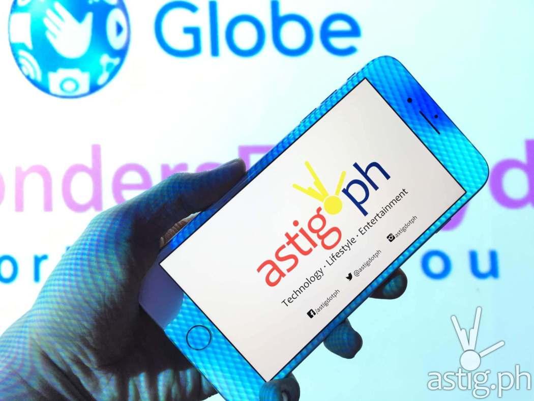 iPhone 8 Plus white Globe Telecom