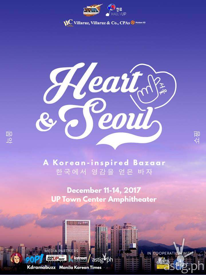 Heart and Seoul poster