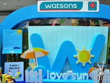Watsons Love the Sun