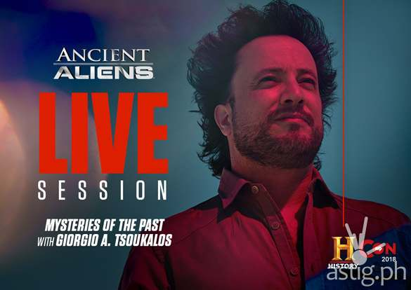 History Con 2018: Ancient Aliens producer Giorgio A. Tsoukalos in Manila this August! [event]