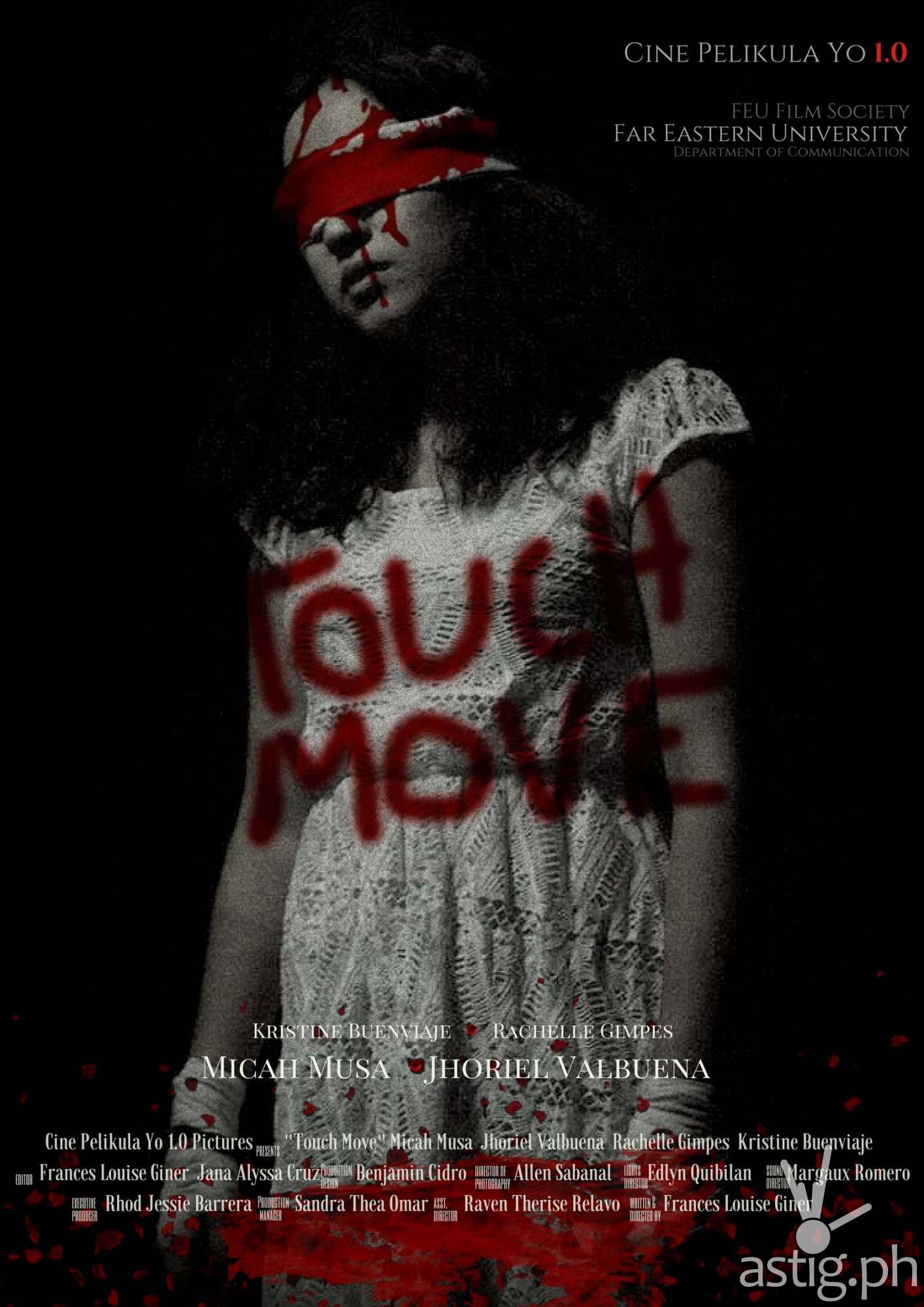 Touch Move Poster