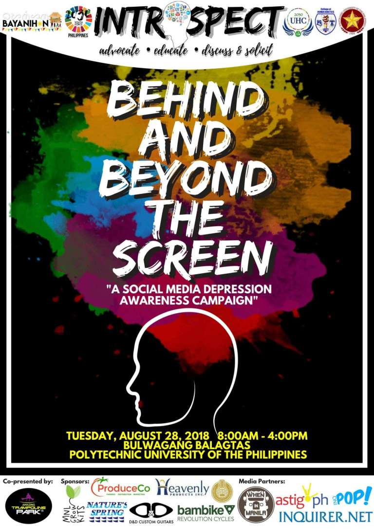 Behind and Beyond the Screen event poster