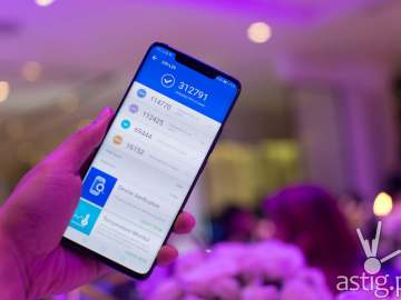 Huawei Mate 20 Pro - Antutu benchmark results