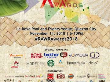 RAWR Awards 2018 Poster