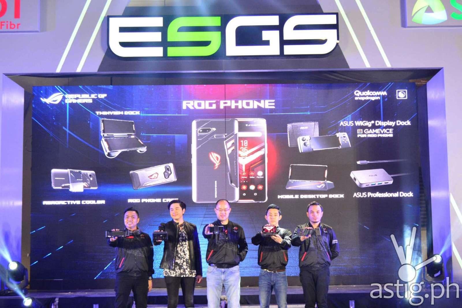 ROG Phone launch - Philippines ESGS 2018