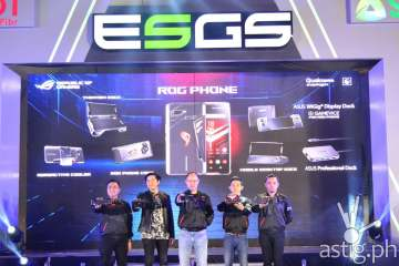 ROG Phone launch - Philippines ESGS 2018