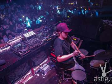 DJ Mark Thompson with his Drum solo - 2018 Red Bull Music 3Style Philippines