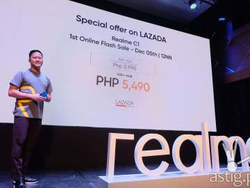 Eason de Guzman, PR Manager for Realme Philippines - Realme C1 Philippine launch
