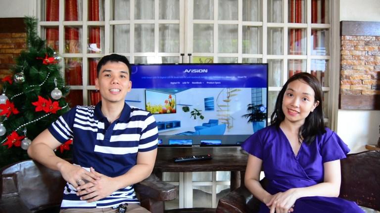 AVision Smart LED TV video review - TechKuya