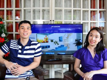 AVision Smart LED TV video review - TechKuya