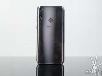 ASUS ZenFone Max Pro M2 (Philippines) silver standing