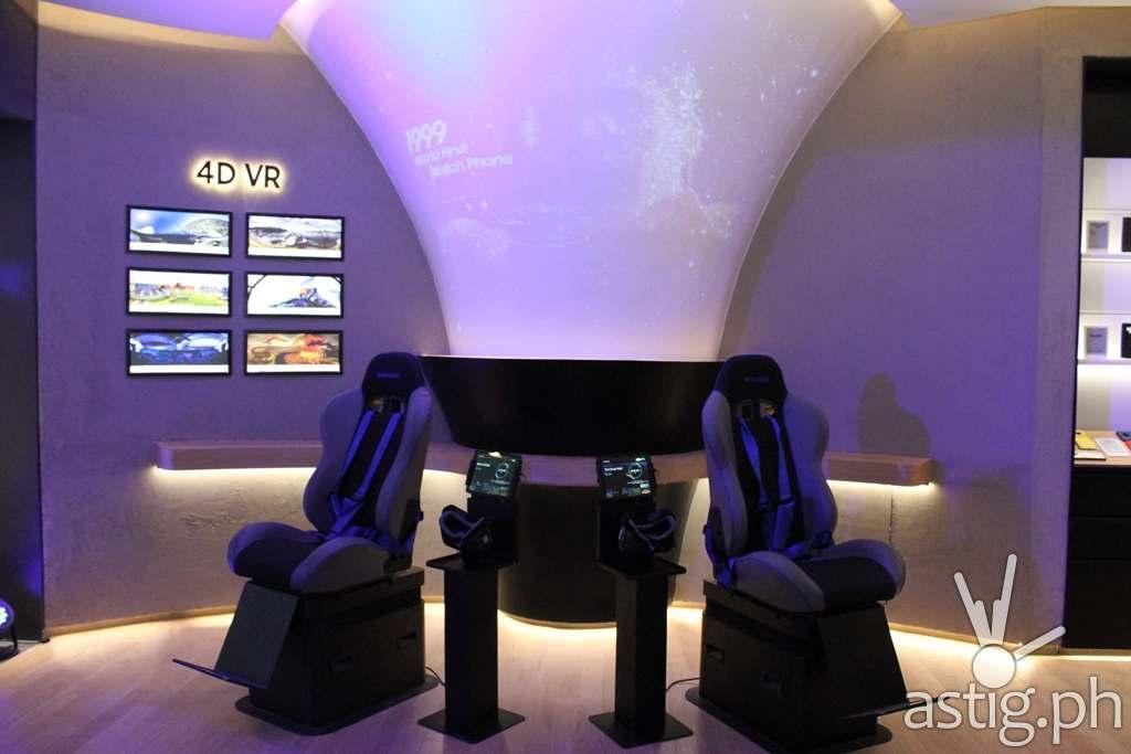 4D VR - Samsung flagship store Manila Philippines