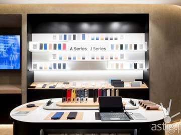 A & J Series - Samsung flagship store Manila Philippines