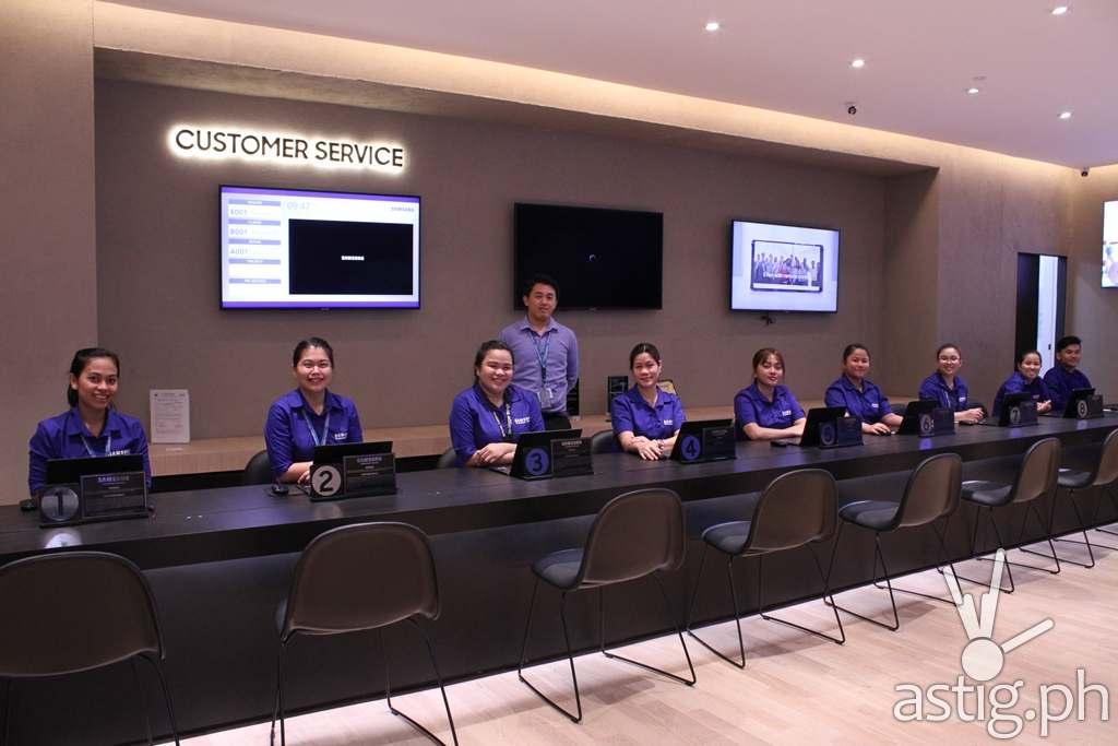 Customer Service - Samsung flagship store Manila Philippines