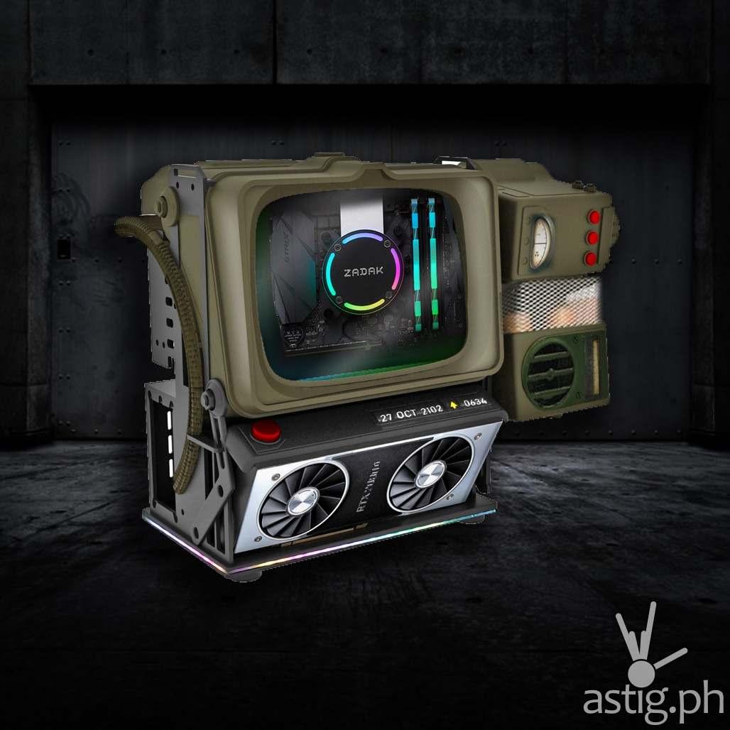 Fallout 76 Pip Boy custom PC build AK ZADAK NVIDIA (1)
